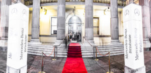 Event photographer for Mercedes-Benz Brisbane at Brisbane customs house.