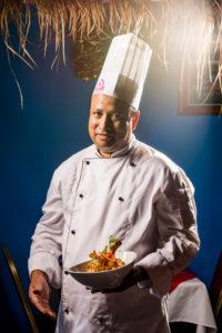 chef in uniform portrait