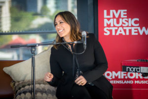 Brisbane media launch photography of Kate Ceberano for the Queensland Music Festival