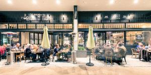 Architectural venue photography in Brisbane of Italian Street Kitchen.