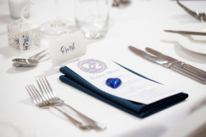 menu and cutlery