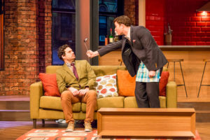Brisbane play photography for The Odd Couple, Playhouse Qpac.
