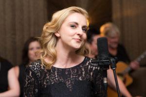 Naomi Price singing in Laddies in Black