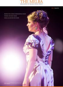 MOT Melba Opera Trust Melba Mag Summer  Cover