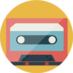 audio cassetta