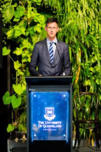 Speaker at the University of Queensland