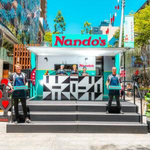 Nando's PR photography