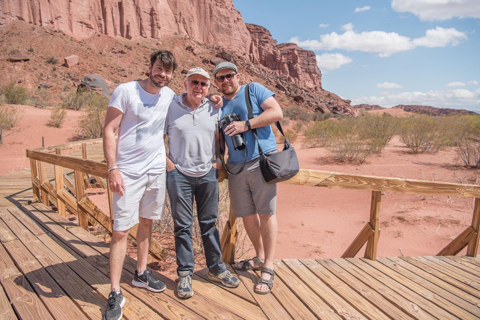 Trip from Mendoza to Salta, Argentina. Talampaya National Park