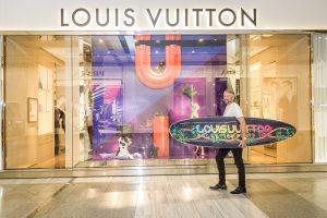 Louis vuitton surf board