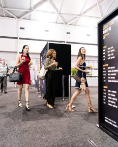 Food show photography