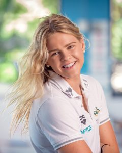 Portrait of Australian swimmer Shayna Jack