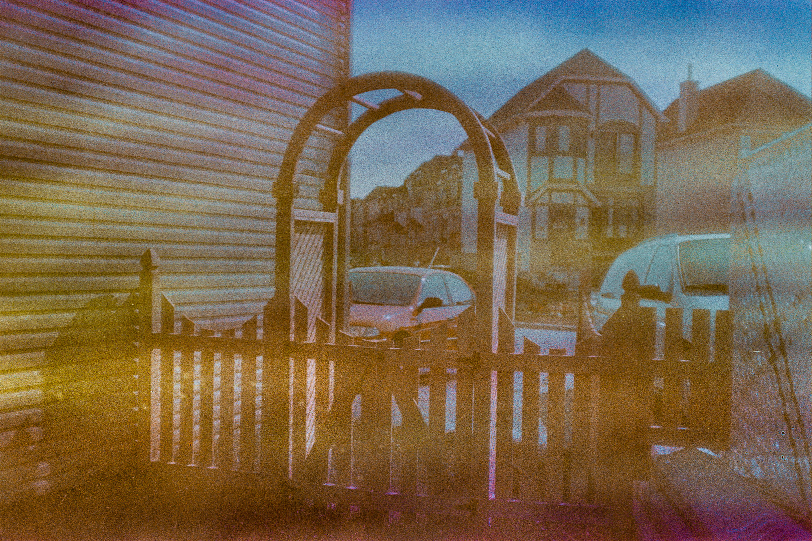 35mm film photograph from second hand camera found in a flea market