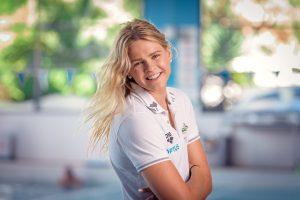 Portrait of Australian swimmer Shayna Jack