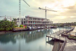 Mercedes-Benz Brisbane construction site photography