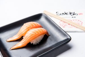 Food photography of a sushi in Brisbane.