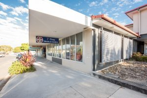 Stor front photography of Brisbane business