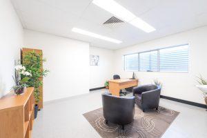 Photograph of doctors practice interior