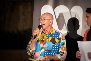 Dr Karl. Event photography in Brisbane. Stargazing in Roma street parklands.