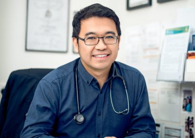 Portrait of Doctor Lai