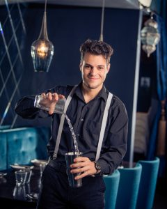 Portrait of a bartender in Brisbane