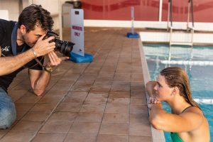 Photo of Brisbane portrait photographer Joseph Byford and Shayna Jack