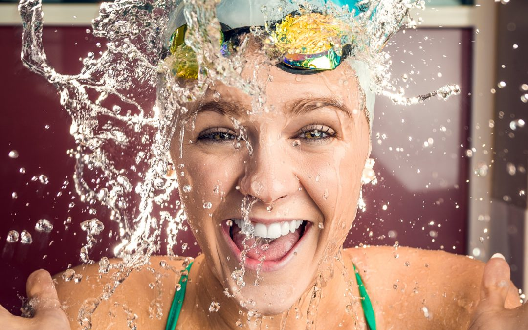 Portrait photography with Shayna Jack, Australian Swimmer & Gold Medalist