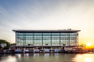 Architecture photography in Brisbane. Mercedes-Benz Brisbane Building.