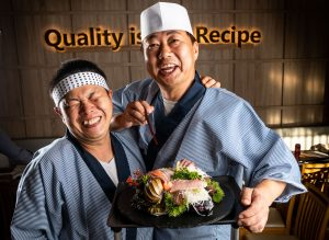 Japanese food photography for a Restaurant in brisbane.