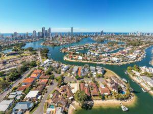 Brisbane architectural drone photography