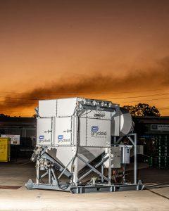 Industrial machine photography in Brisbane