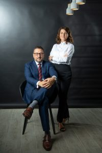 Business partners portrait brisbane