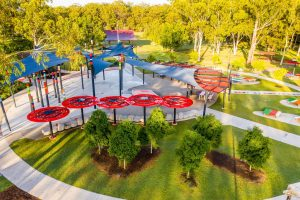 commercial spaces drone photography